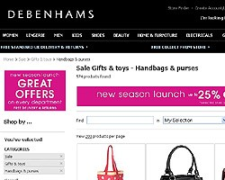 Handbags & Purses Sales
