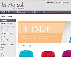 Ladies knitwear